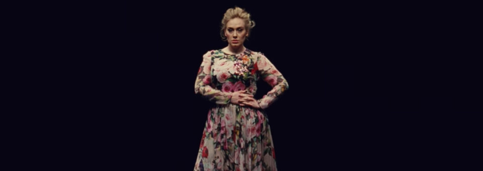 adele, send my love (to your new lover), dolce & gabbana, music video, celebrity style, fashion, music video