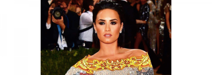 demi lovato, met gala, makeup, makeup look, get the look