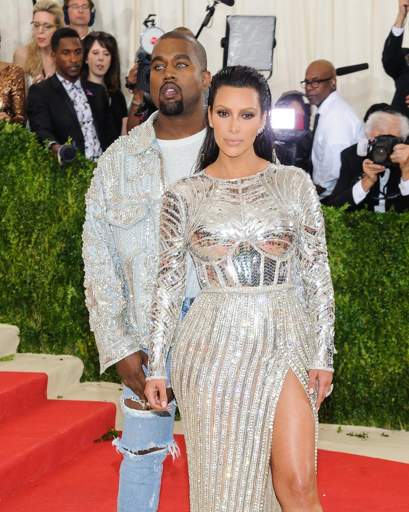 Kim Kardashian and Kanye West Met Gala 2016