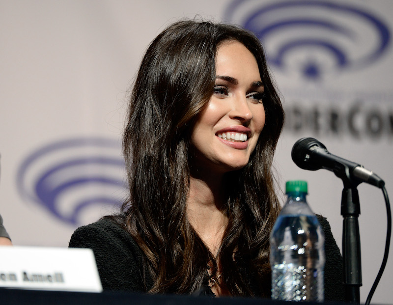 LOS ANGELES, CA - MARCH 25:  Actress Megan Fox attends a panel at Wonder Con to promote the upcoming release of Paramount Pictures' ìTeenage Mutant Ninja Turtles ñ Out of The Shadowsî, on March 25, 2016 at the LA Convention Center in Los Angeles, California.  (Photo by Frazer Harrison/Getty Images) *** Local Caption *** Megan Fox