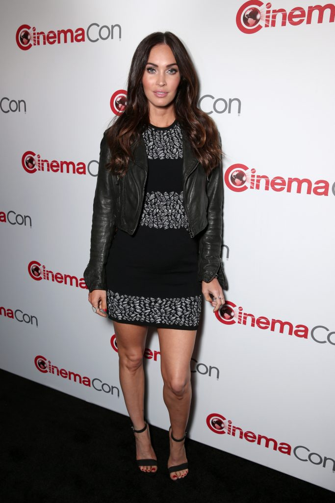 LAS VEGAS, NV - APRIL 11:  Actress Megan Fox attends the CinemaCon 2016 Gala Opening Night Event: Paramount Pictures Highlights its 2016 Summer and Beyond Films at The Colosseum at Caesars Palace during CinemaCon, the official convention of the National Association of Theatre Owners, on April 11, 2016 in Las Vegas, Nevada.  (Photo by Todd Williamson/Getty Images for CinemaCon) *** Local Caption *** Megan Fox