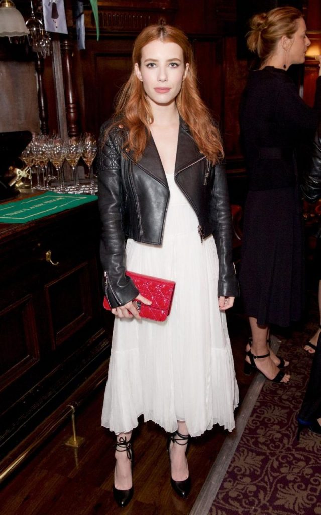 Get The Look Emma Roberts At The Lady Dior Event My