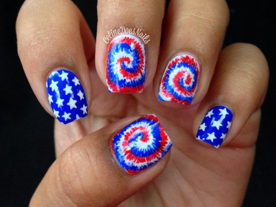 Festive fourth of july nail designs my fashion centsmy fashion cents naisl fourth of july 4th of july independence day independence day 2016 prinsesfo Images