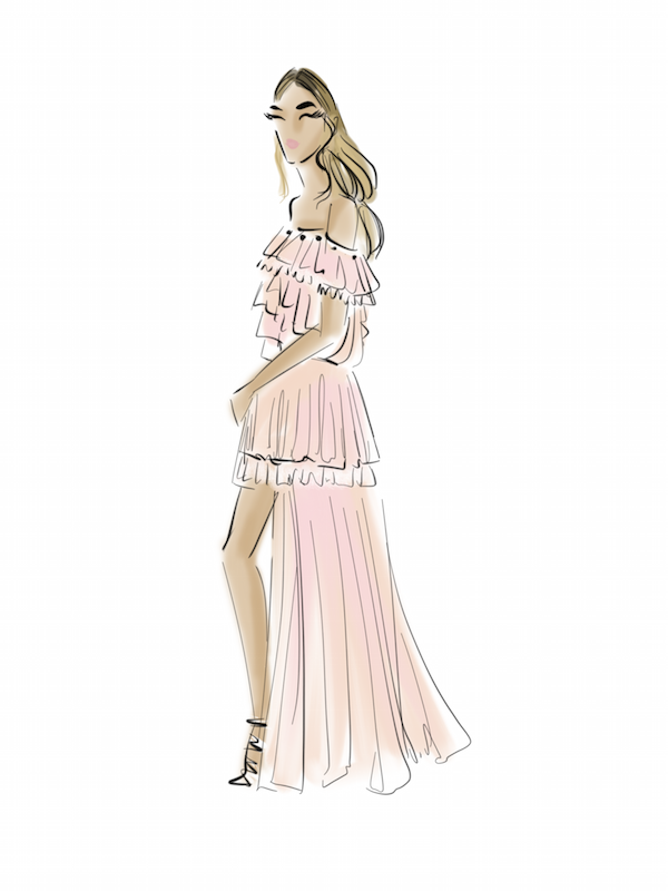 chicsketch, fashion illustration, fashion illustrator, fashion app
