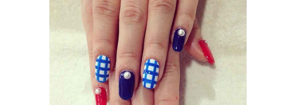 naisl, fourth of july, 4th of july, independence day, independence day 2016, red white and blue, nails,