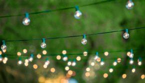 summer yard lights backyard items
