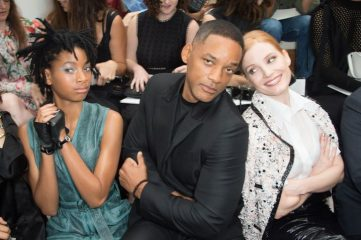 bradley cooper, jennifer garner, naomi campbell, marion cotillard, celine dion, will smith, jessica chastain, willow smith, chanel couture, couture, paris, chanel couture 2016, fall couture, front row