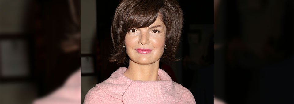 first lady hairstyles jackie kennedy wax sculpture