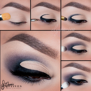half moon eyeshadow tutorial