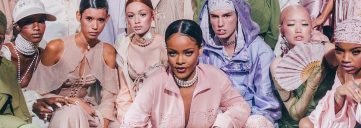 rihanna, fentyxpuma, paris fashion week, pfw, paris, wrier, badgal riri