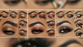 3 Golden Makeup Looks for Fall by Fritzie Torres Using Motives Cosmetics
