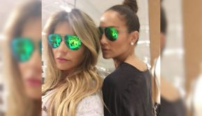 loren ridinger and j lo go shopping