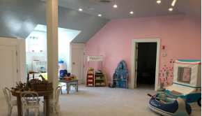Loren Ridinger's Greenwich Home: Shared Kids' Rooms Ideas