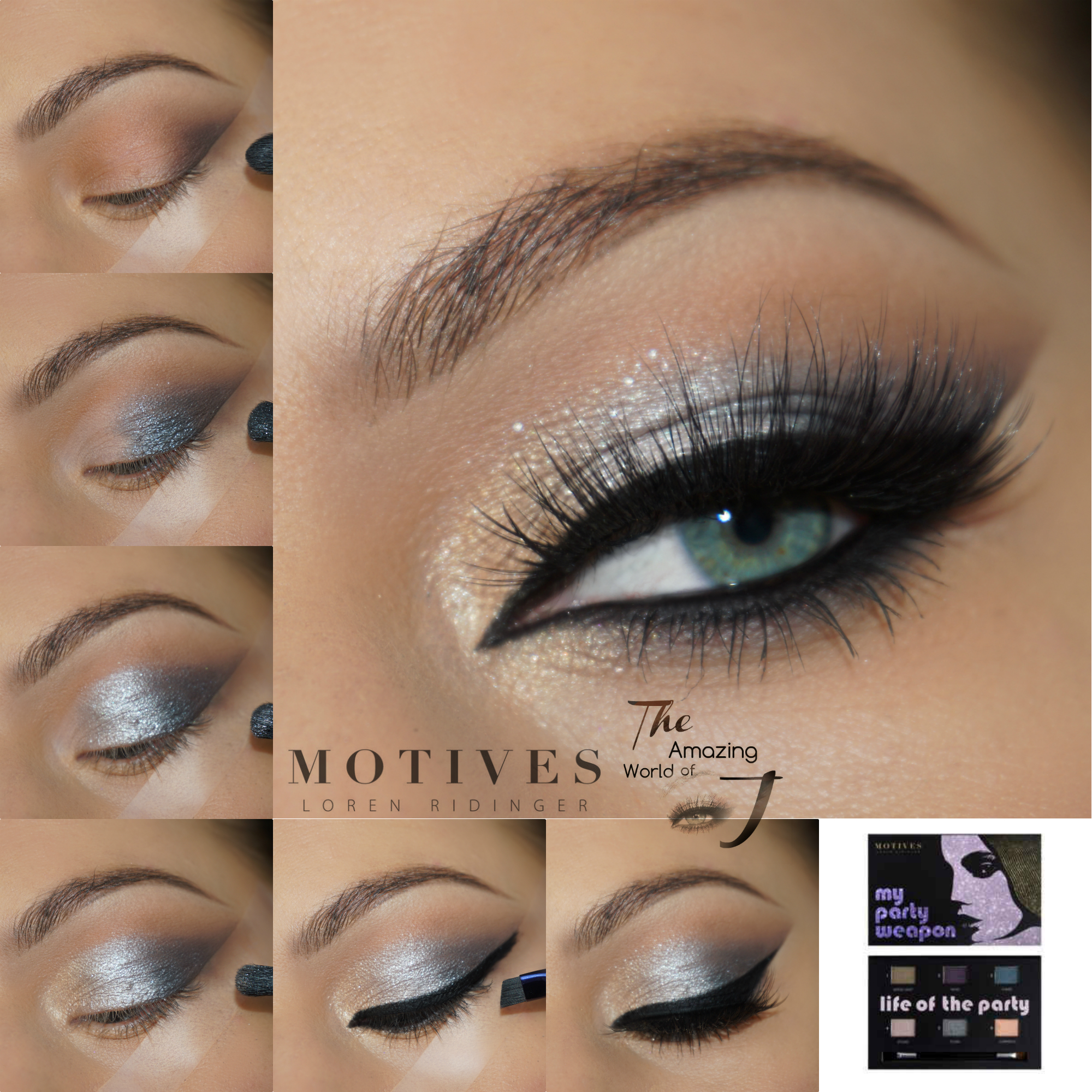 """Get the Look with Motives®: """"My Party Weapon"""" Makeup Tutorial"""