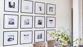 gallery wall how to hang art creatively
