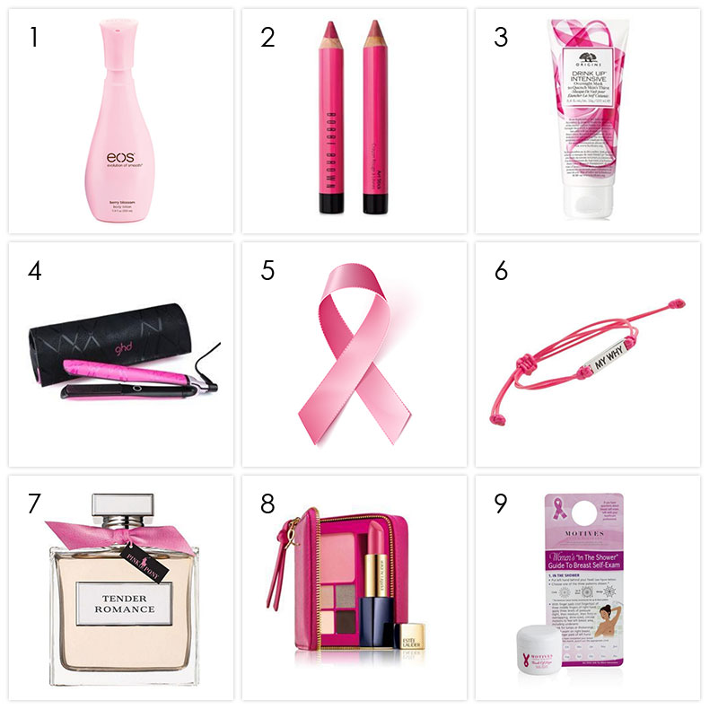 products breast cancer awareness research