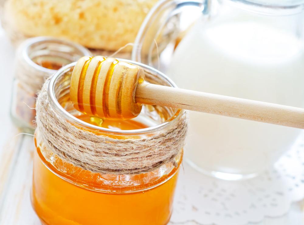 milke and honey exfoliator recipe