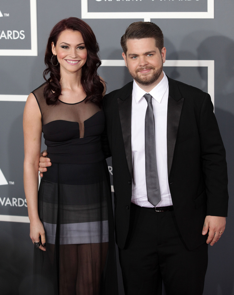 Jack Osbourne with wife, Lisa Stelly