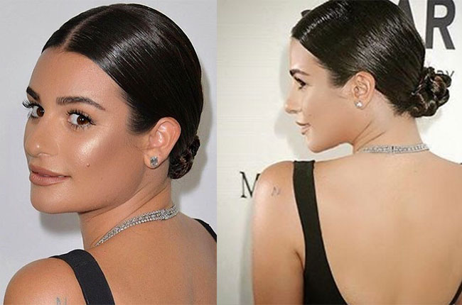 lea michelle hairstyle tutorial
