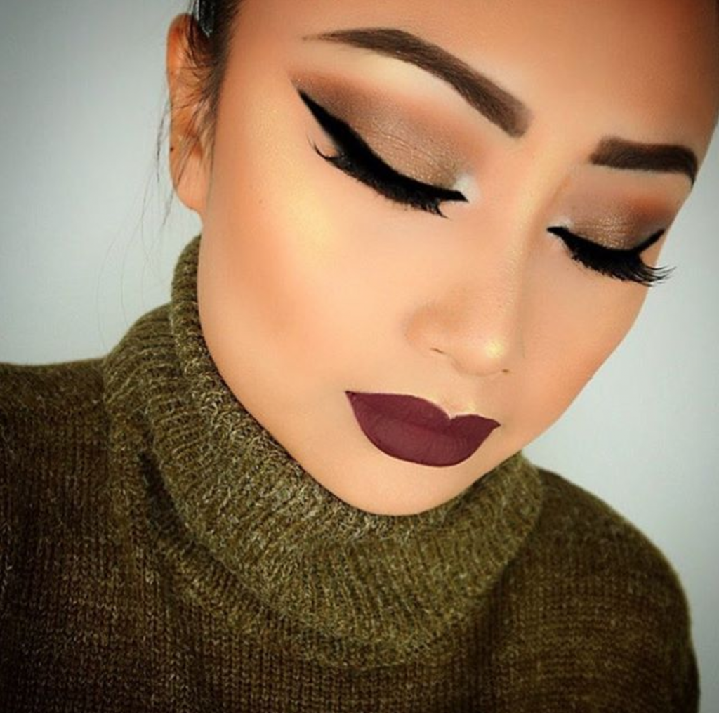 Inspiration 7 Holiday Party Makeup Looks - Lorenu0026#39;s World