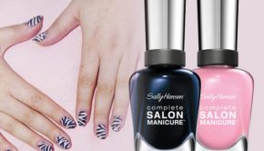 Sally Hansen Zebra Nail Art Tutorial
