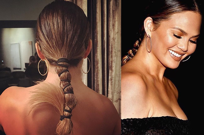 Get the Look: Chrissy Teigen Hair Tutorial by Laura Polko