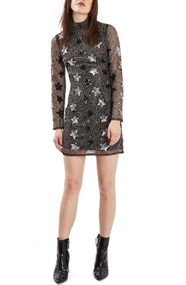 starry dress, kerry washington, critics choice awards, star pattern, fashion, style, celebrity fashion