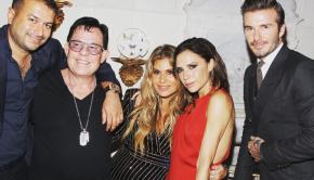 David & Victoria Beckham in Miami for World AIDS Day