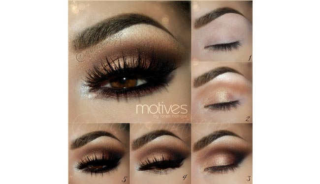 Get the Look with Motives: Nude Smokey Eye by Aurora Makeup