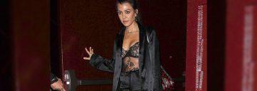 Kourtney Kardashian in La Perla - Get the Look
