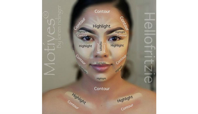Fritzie Torres Contour and Highlight with Motives