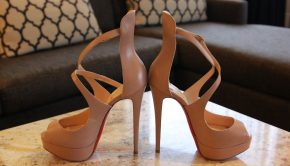 Nude shoes from Loren's Collection