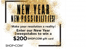 New Year, New Possibilities Contest on SHOP.COM