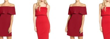 red dress, red dresses, red for heart health, February, heart health month ,