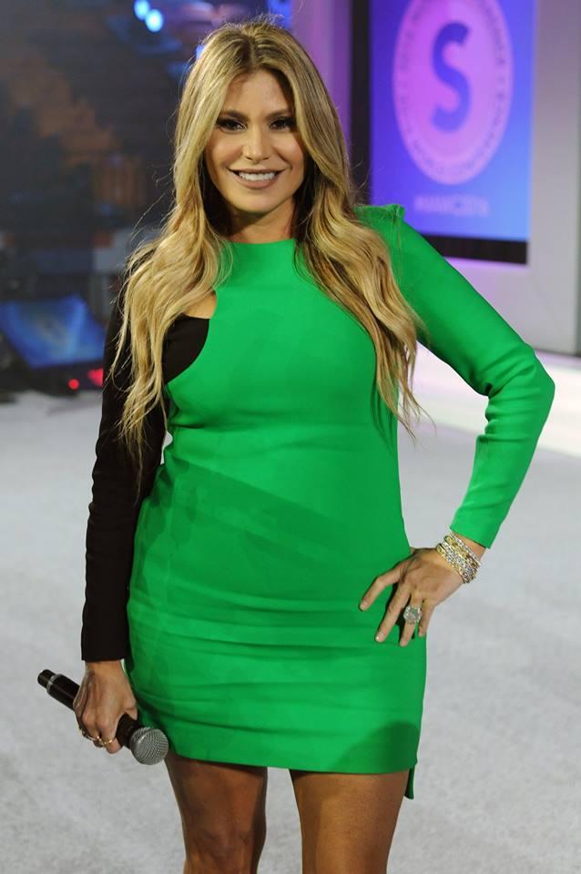 Loren Ridinger Versace Green Dress