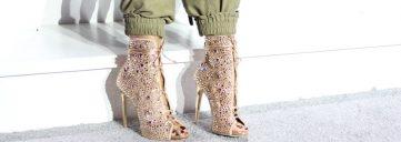 jennifer lopez x giuseppe zanotti, shoes, jennifer lopez, jlo, glitter shoes, sparkly shoes, splurge vs steal, splurge, steal, steal splurge