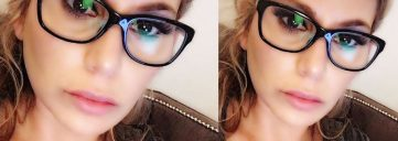 glasses, loren ridinger, makeup for glasses, makeup inspiration, beauty for glasses