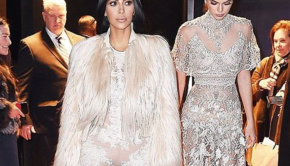 "Kim Kardashian Shoots ""Ocean's 8"" in Los Angeles"