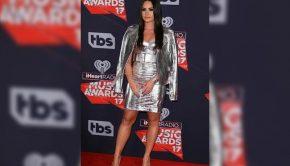 Demi Lovato at the iHeart Radio Music Awards 2017