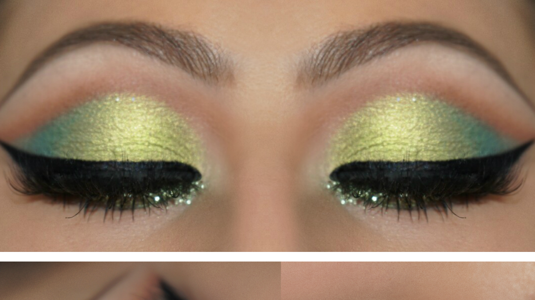 Get the Look: Spring Green Makeup Tutorial