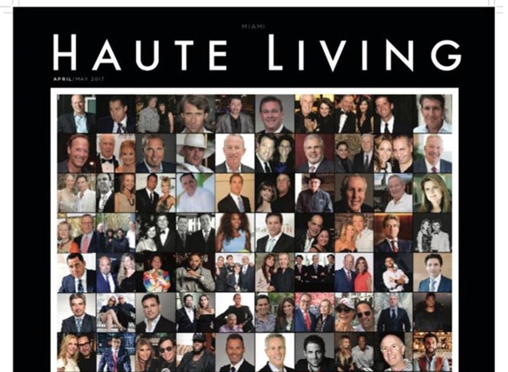 Haute Living Miami 2017 Haute 100