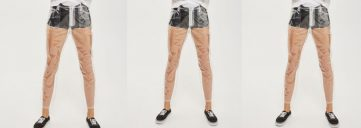 topshop, clear jeans, plastic jeans, trend, topshop, topshop trend
