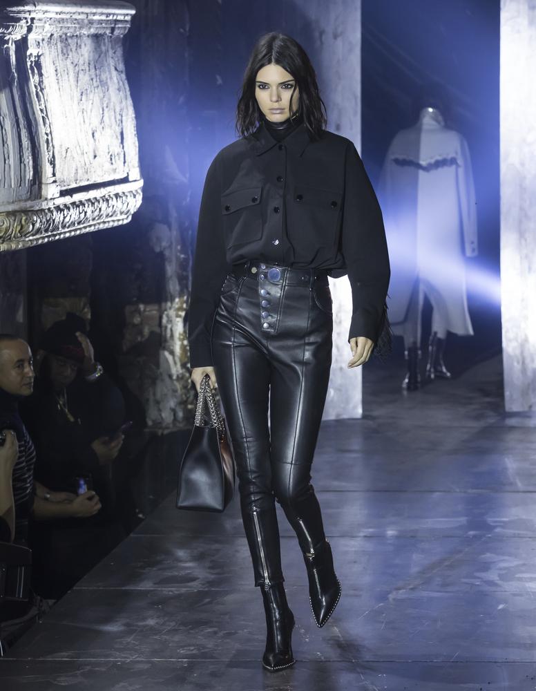 kendall jenner alexander wang runway show 2017