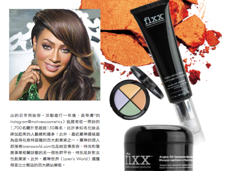 Fixx Featured in ELLE Taiwan