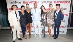 "Dwayne Johnson Premieres ""Baywatch"" in Miami"