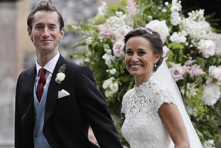 Pippa Middleton is Married!