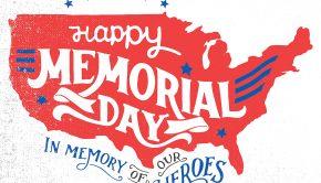 Honoring Memorial Day 2017