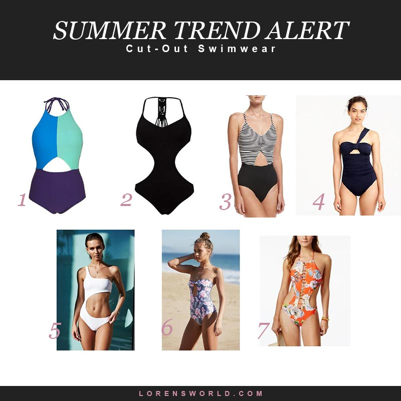 cut-out swimwear on shop.com