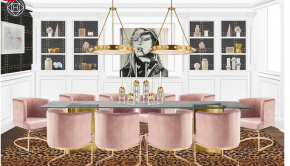 Home Decor: A Dining Room Concept by Shelby Girard and The Havenly