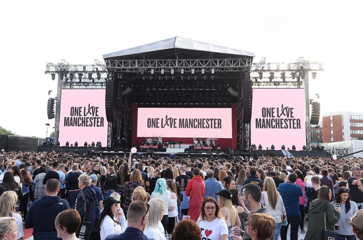 Ariana Grande Hosts Manchester Tribute Concert